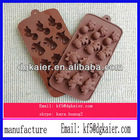 Popular bake tools silione chocolate moulds