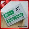 half-hard pvc transparent ID card holder