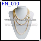 2012 Wholesale 8-9mm Fashion Pink Pearl Necklace in 22 inch