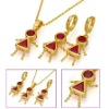 gold jewellery set designs