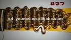 Wholesale 100% KANEKALON Synthetic pnon-tail hair extension
