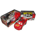 B/O music police toy car for kids, two side for choose