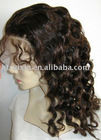 curly full lace wig / human hair wigs/hand-making wigs