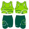 Sublimated Women Sports Running Bra and Shorts RWB03