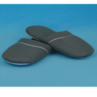 grey sandwich fabric soft sole indoor slipper for men style