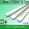 22W led t8 1200mm