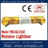 Halogen Rotator Amber Lightbar TBD-GC-210Z