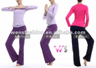 woman lycra yoga suit