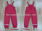 Kid's raincoats, Kid's PU knitted rain suits,
