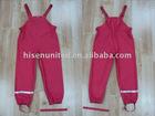 Kid's raincoats, Kid's PU knitted rain suits,