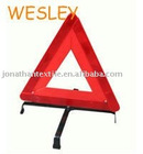 standard WARNING TRIANGULAR for traffic emergency use