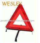 standard WARNING TRIANGULAR for traffic emergency use