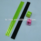 promotion PVC reflective snap band