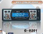 Nights lighting indication Manual tuning car radio