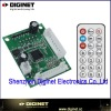 PCB led dirver portable fm usb/sd card radio