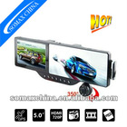 Hot Sale! MP3/MP4/FM Rearview Mirror Car DVR HD720P 5 Inch GPS Navigation