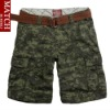 Matchstick brand 100% cotton unique men's camouflage shorts woodland digital BDU shorts S3640M