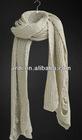 2013 fashion handmade fringee wool scarf