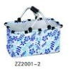 Waterproof Collapsible Shopping Aluminum Basket ZZ2001A