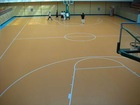 pvc wood flooring for basketball court