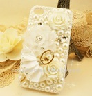 Ballet girl crystal phone case for Samsung galaxy s2 i9200