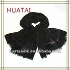 Yak Wool Shawl in black 152*129cm (1205194)