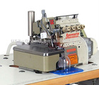 Automatic cutting facility for YAMATO overlock machine