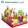 Funny play inflatable activity center