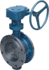 butterfly valve ( hard sealed worm gear type )