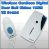 Wireless Cordless Digital Door Bell Chime 100M 32 Sound