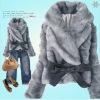 2010 fashion lady's winter garment