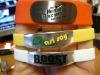 Promotional Metal Bracelet Silicone Wristband