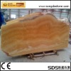 yellow onyx slab