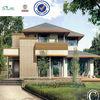 light steel structure prefabricated luxury villa