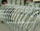 Galvanized weight razor wire