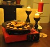 PORTABLE GAS GRILL/PICNIC TABLE COOKER (MODEL No: BDZ-155-A)