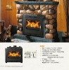 2012 New Desing modern wood burning stoves(XQ001)