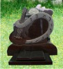 Granite carving tombstone design