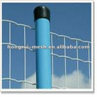 Welded wire mesh with PVC