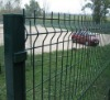 Green Rectangular Hole Welded wire mesh fence(ISO 9001)