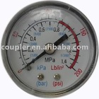 Air Compressor Fittings Pressure Gauge