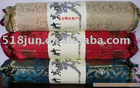 Silk Fabrics Charcoal Cervical Health Care Pillow
