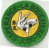 iron-on Embroidered Judo Patches
