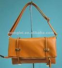 Fashion Ladies' PU Leather Messenger Crossbody Bag, Elegant Shoulder Bag For Women