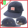 cheap strap back hats with woven label patch