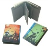 2012 latest colourful leather wallet for men and wowen