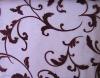 Flocked Organza Fabric