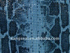 Embossed cow leather for case, Fashion embossed cow leather, Cow leather Snake texture, Embossed goat leather for shoes