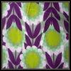 Sun Flower Linen Cotton Printing Fabric