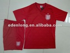 Men's 100% Polyester Breathable Wholesale Soccer Team Wear